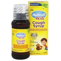 Hylands cough syrup with 100% natural honey for kids - 4 oz