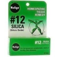 Hylands NuAge #12 silica homeopathic tissue remedy tablets - 125 ea