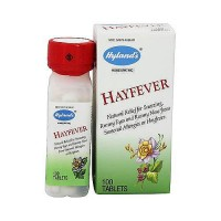 Hylands hay fever tablets relieves seasonal allergies - 100 ea