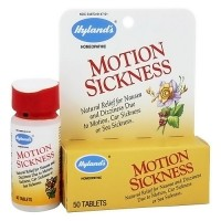 Hylands natural motion sickness relief tablets - 50 ea