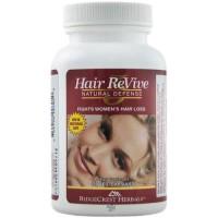 Ridgecrest Herbals Hair Revive Natural Defense Vegetarian Capsules - 120 ea
