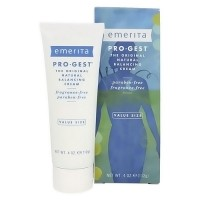 Emerita Pro-Gest original natural progesterone cream value size - 4 oz