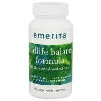 Emerita menopause plus formula vegetarian caplets with black cohosh - 60 ea