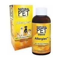 Natural Pet homeopathic allergy relief for canines - 4 oz