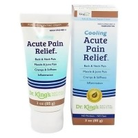 King Bio Cooling Acute Pain Relief Topical cream - 3 oz