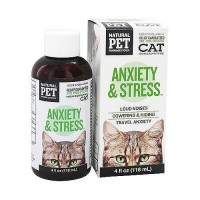 King Bio Natural Pet Anxiety and Stress For Cats - 4 oz