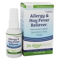 Dr. Kings natural medicine homeopathy allergy and hay fever reliever - 2 ea