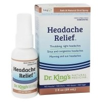 Dr.Kings natural medicine homeopathy headache relief - 2 oz.