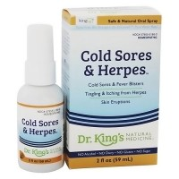 Dr. Kings natural medicine homeopathic cold sores and herpes-2 oz