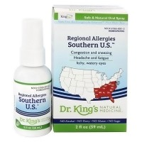 Dr. Kings natural medicine homeopathic regional allergies southern U.S.- 2 oz