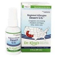 Dr.kings regional allergies desert natural medicine homeopathy spray - 2 oz