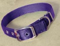 Hamilton Pet Company double thick nylon dog collar - 1x20 in, 4 ea