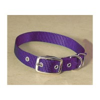 Hamilton Pet Company single thick nylon dog collar - 5/8 x 14 in, 4 ea