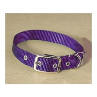 Hamilton Pet Company single thick nylon dog collar - 5/8 x 18 in, 4 ea