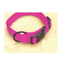 Hamilton Pet Company adjustable dog collar - 3/4 x 16-22 in, 4 ea