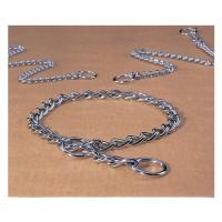 Hamilton Pet Company fine choke chain dog collar - 12 in, 4 ea