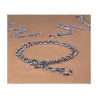 Hamilton Pet Company fine choke chain dog collar - 18 in, 4 ea