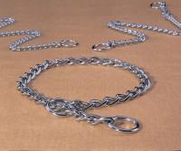 Hamilton Pet Company medium choke chain dog collar - 20 in, 4 ea
