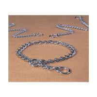 Hamilton Pet Company heavy choke chain dog collar - 22 in, 4 ea