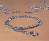 Hamilton Pet Company heavy choke chain dog collar - 24 in, 4 ea
