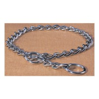Hamilton Pet Company heavy choke chain dog collar - 26 in, 4 ea