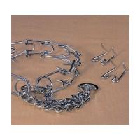 Hamilton Pet Company chain prong training collar chrome hamilton strlng - 3.2mm/medium, 4 ea