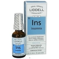 Liddell Laboratories Insomnia Homeopathic, Oral Spray - 1 oz