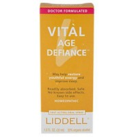 Liddell homeopathic Vital Age Defiance oral spray - 1 oz