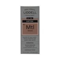 Liddell laboratories detox metals homeopathic oral spray - 1 oz