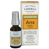 Liddell Laboratories Go Anxiety + Tension Homeopathic, Oral Spray - 1 oz