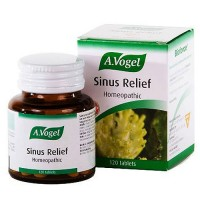 Bioforce A.Vogel sinus relief homeopathic tablets - 120 ea