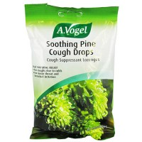 Bioforce A.Vogel soothing pine cough drops cough suppressant lozenges, 16 ea