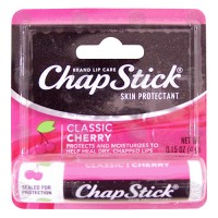 Chapstick classic cherry skin protectant lip care - 6 ea