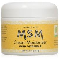 Msm cream moisturizer with vitamin E, at last naturals - 2 oz