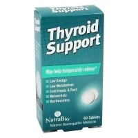 Natra Bio Thyroid Support Tablets, Homeopathic - 60 ea