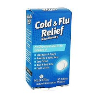 Natrabio Cold And Flu Relief Tablets, Non Drowsy - 60 ea