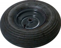 The Ames Company P true temper replacement wheel assembly - 6 inch, 1 ea
