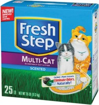 Clorox Petcare Products fresh step multi-cat clumping litter - 20 pound, 1 ea
