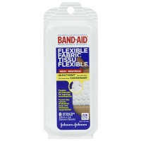 Band aid flexible fabric bandages - 6 ea
