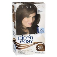 Clairol Nice N Easy, Permanent Hair Color, Natural Light Ash Brown #114 - Kit