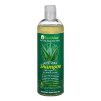 Realaloe aloevera shampoo with argan oil and oat beta glucan - 16 oz