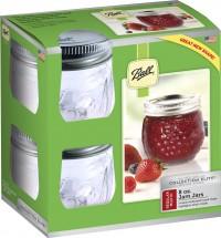 Jarden Home Brands ball designer series jam jar - 8 oz, 4 ea