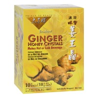 Ginger honey crystals with lemon - 10 ea