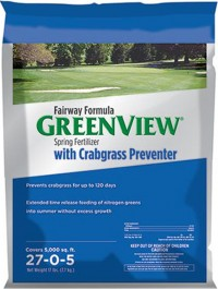 Greenview greenview fairway formula with crab preventer - 17 lbs, 1 ea