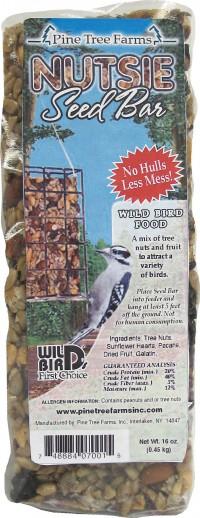 Pine Tree Farms Inc wild bird's first choice seed bar - 16 ounce, 12 ea