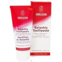 Weleda Ratanhia toothpaste - 2.5 oz