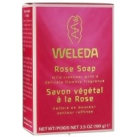 Weleda rose soap - 3.5 oz