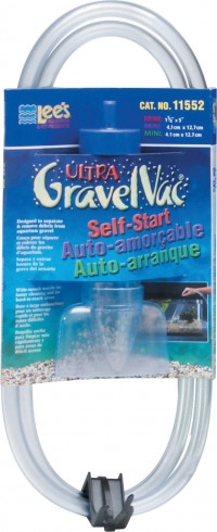 Lee'S Aquarium & Pet ultra gravel vacuum cleaner with nozzle - 5 inch, 36 ea
