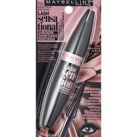 Maybelline lash sensational blackest black - 6 ea