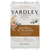 Yardley london soap bath bar oatmeal and almond - 6 ea
